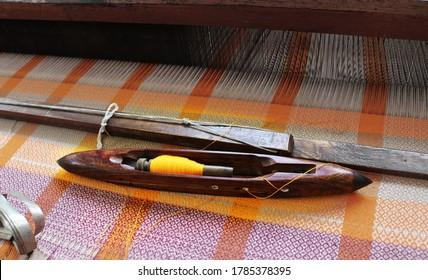 Wooden Handloom Shuttles, still life