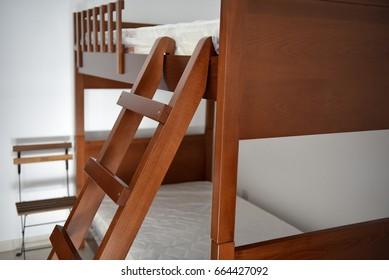 wooden high quality loft bed or high sleeper