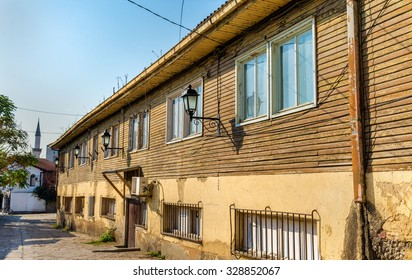 Wooden house in the old town of Skopje - Macedonia