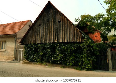 Wooden house on the streets of Samobor