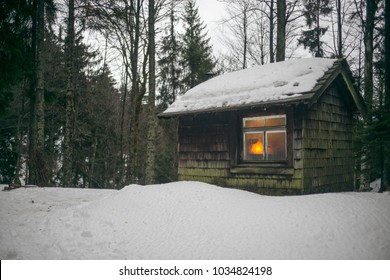 wooden hut, Black Forest, Germany