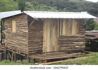 Wooden Hut in Meghalaya