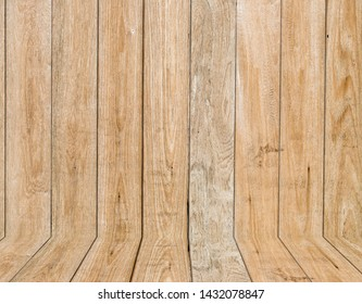 wooden interior room , wood texture. background for design