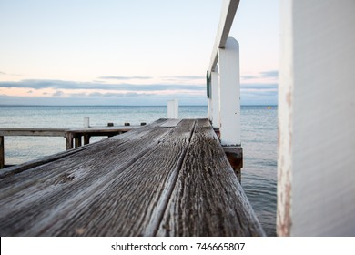 Wooden Jetty at the beach
