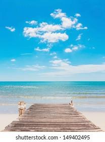 Poster Beauty Beach • Pixers® - We leven om te veranderen | 280x208