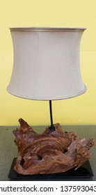 wooden lamp shade by nature