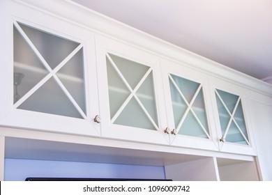 Wooden light cabinet