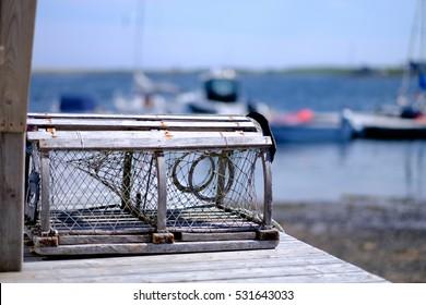 Wooden Lobster Pots
