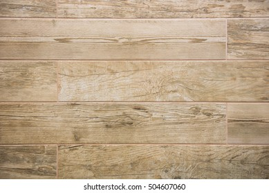 Wooden look of ceramic tiles. Home wall surface decoration. Height of tile is 10 cm.
