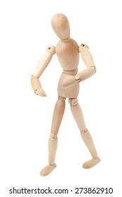 Wooden man toy