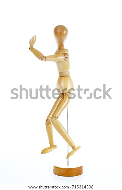 Wooden Mannequin Drawing Model Human Shape Stock Photo (Edit Now