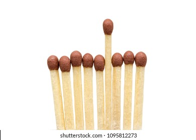 Wooden Matchstick Background