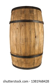 Wooden oak barrel (view and different angle in portfolio)