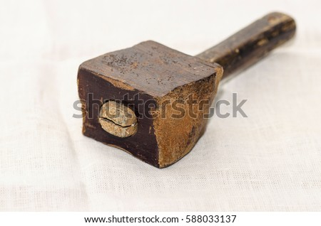 Vintage Wooden Mallet All About Wooden