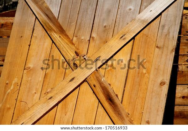 Wooden pallet texture