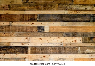 Wooden pallets background.