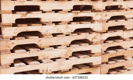 wooden pallets textured and background