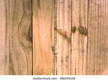 Wooden panel background.