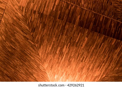 wooden panels leading into the dark - wooden texture dramatic light, natural pattern.