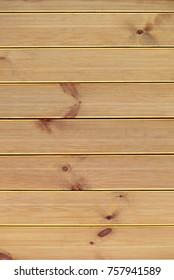 wooden panels with a striped texture