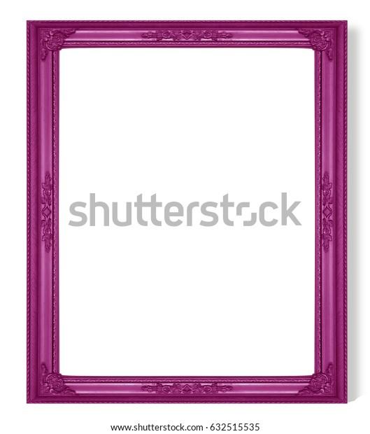 Wooden Photo Frame black  isolated on white background.