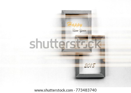 Wooden Picture Frame Overlay Greeting Text Stock Photo Edit