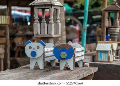 Wooden Pig