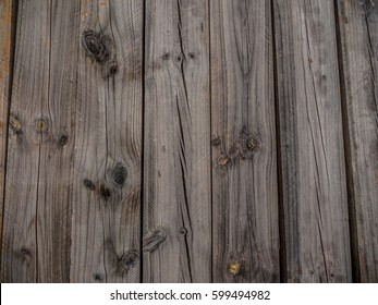 Wooden pine train sleepers stacked texture, wood grains and knots
