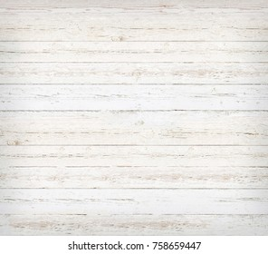 Wooden Plank Background of weathered painted whiteboard
