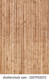Wooden Plank Board Panel Vertical Background Or Rough Texture