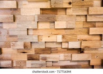Wooden Plank Wall with Texture Background