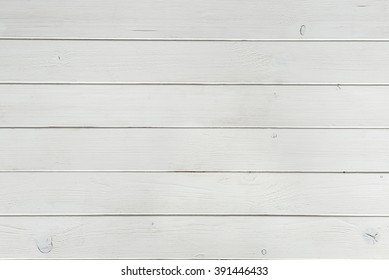 wooden planks covered with white paint top view