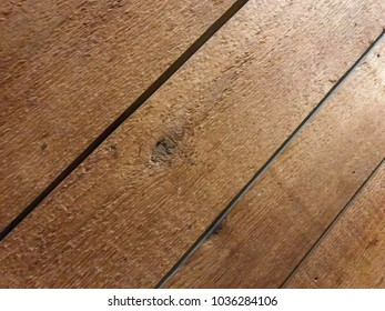 Wooden Planks Slanted Lit Corner