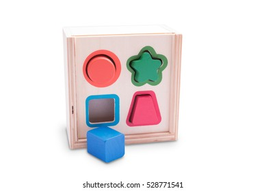 Wooden puzzle game for baby