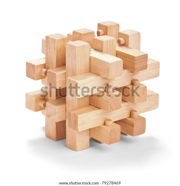 Wooden Puzzles Stock Photo (Edit Now) 79278469