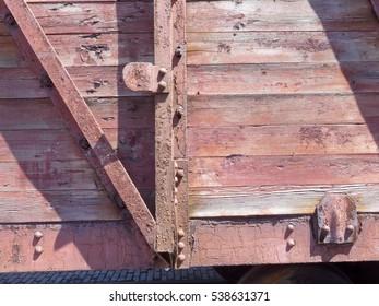 Wooden railroad car Details
