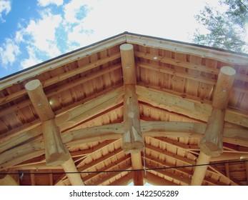 Imágenes Fotos De Stock Y Vectores Sobre Roof Planks Shutterstock