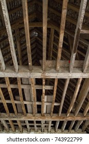Wooden roof structure and sub floor