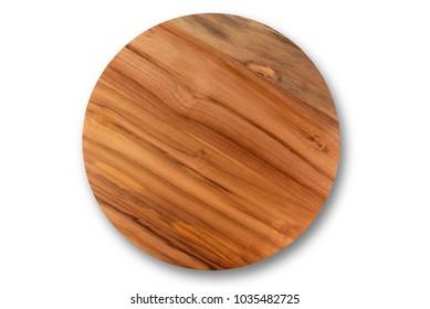 Wooden round board