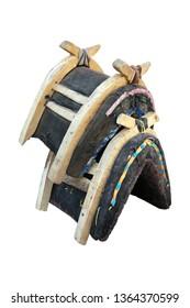 wooden saddle for donkey