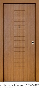 Wooden Security Door