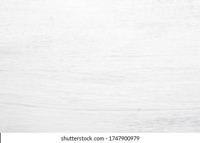 Wooden shabby texture of the old table. White wood background.  Top view.