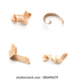 Wooden shavings