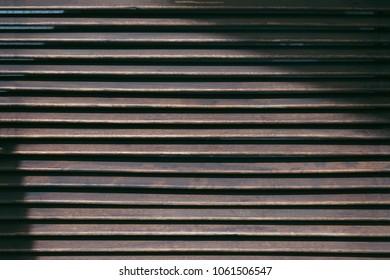 Wooden shutters background