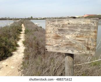 wooden sign for mockup