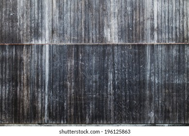 Wooden Slat Wall Background Texture