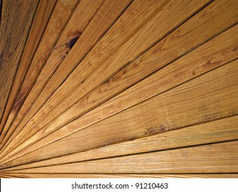 Wooden slats made Background.