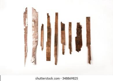 wooden splinter