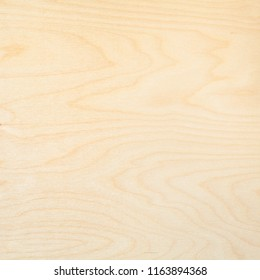 wooden square background from natural birch board