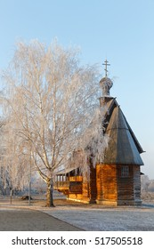 The wooden St Nicholas church in Suzdal Kremlin